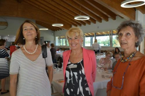 Marisa con Dottoressa Micheli e Dottoressa Degrassi